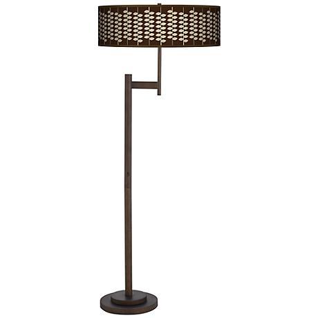 Hi Fi Giclee Parker Light Blaster Bronze Floor Lamp