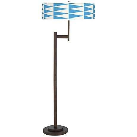 Coastal Pennant Giclee Parker Light Blaster™ Floor Lamp