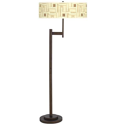 Organic Strands Parker Light Blaster™ Floor Lamp