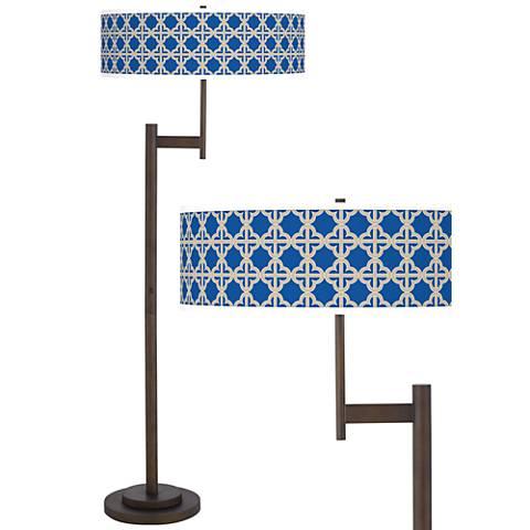 Four Corners Giclee Parker Light Blaster™ Floor Lamp
