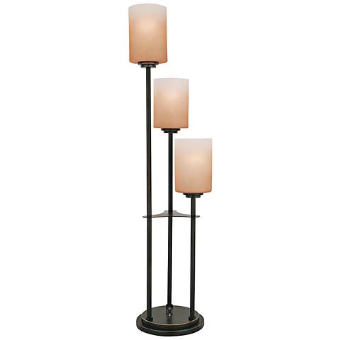 "Lite Source Bess 34"" High Dark Bronze Modern Table Lamp"