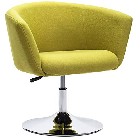 Zuo Umea Pistachio Green Arm Chair
