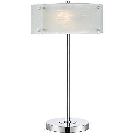 Lite Source Kaelin Modern Chrome Table Lamp