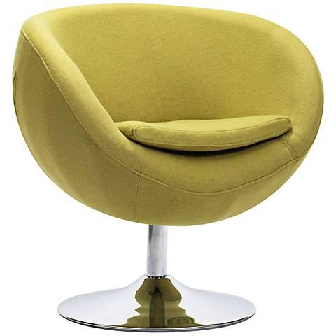 Zuo Lund Pistachio Green Arm Chair