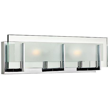 "Hinkley Latitude 18"" Wide Chrome Bathroom Light"