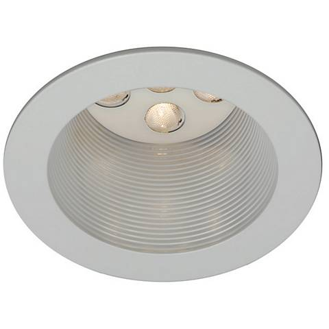 "WAC White 4"" LED Recessed Light Trim"