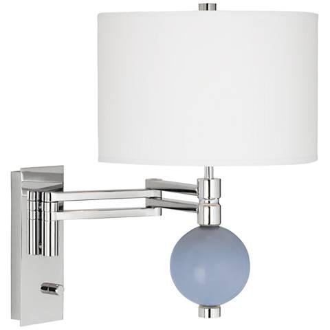 Blue Sky Niko Swing Arm Wall Lamp