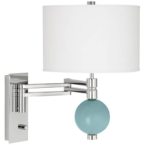 Raindrop Niko Swing Arm Wall Lamp