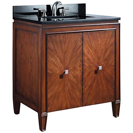 """Avanity Brentwood 31"""" New Walnut Sink Vanity"""