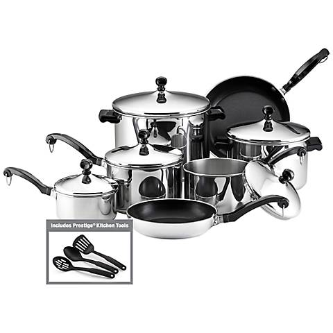 Farberware Classic Series 15-Piece Cookware Set