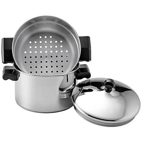 Farberware Stack n' Steam 3-Qt Saucepot w/Steamer Insert