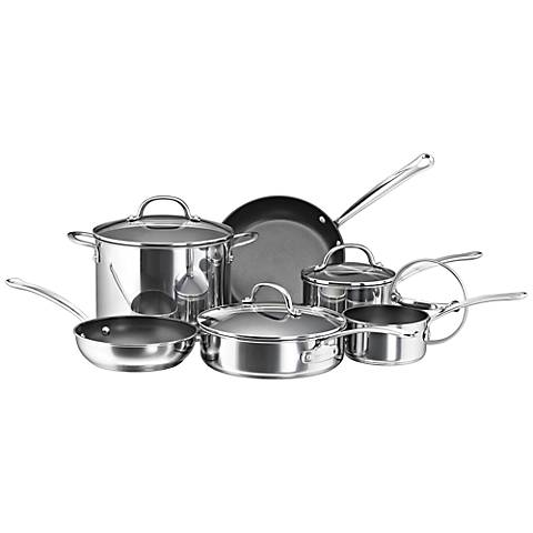 Farberware Millennium 10-Piece Nonstick Cookware Set