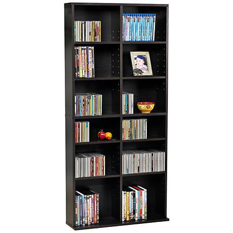 Oskar Espresso 464 CD Media Storage Cabinet