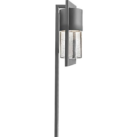 Hinkley Shelter Hematite Low Voltage Outdoor Path Light