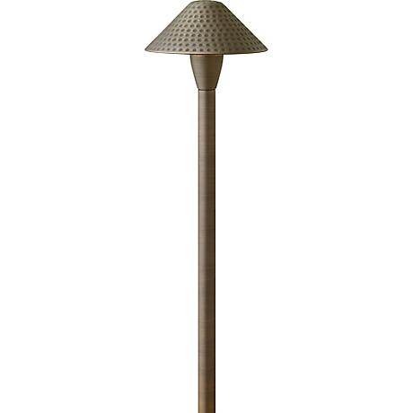 Hinkley Hardy Island Large Hammered Outdoor Path Light