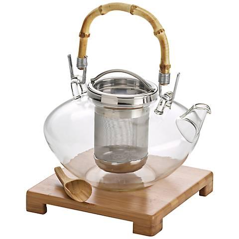 BonJour Zen 42-Ounce Glass Teapot