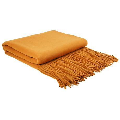 Copper Mountain Signature Cashmere Blend Waterwave Blanket