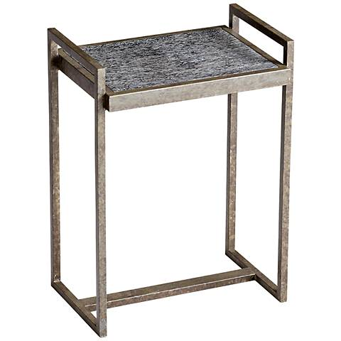 Padgett Black Limed Iron Side Table