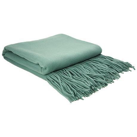 Spa Signature Cashmere Blend Waterwave Throw Blanket