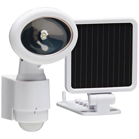 Westdale White Solar LED Security Light