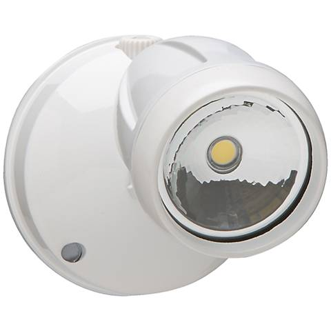 Brookdale 1-Light White LED Security Light