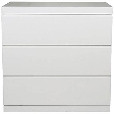 Anna White Single 3-Dresser