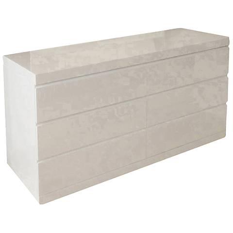 Anna White Double Dresser