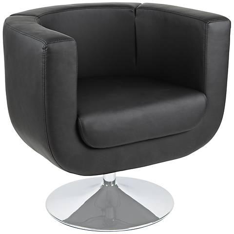 Bliss Black Leatherette Chair