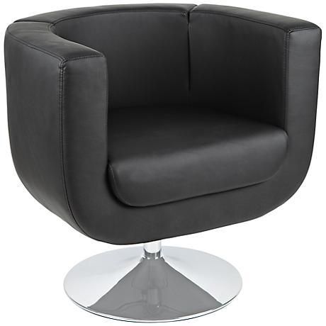 Bliss Black Leatherette Chair