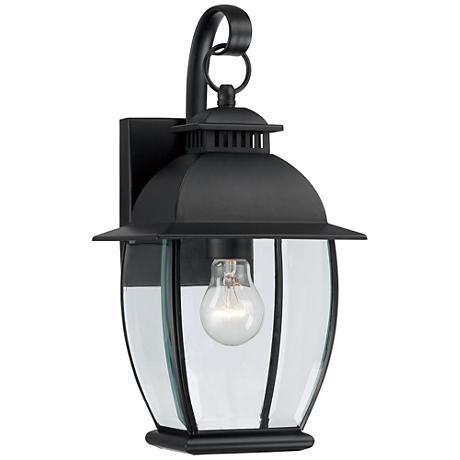 Quoizel Bain Mystic Black Small Outdoor Wall Lantern
