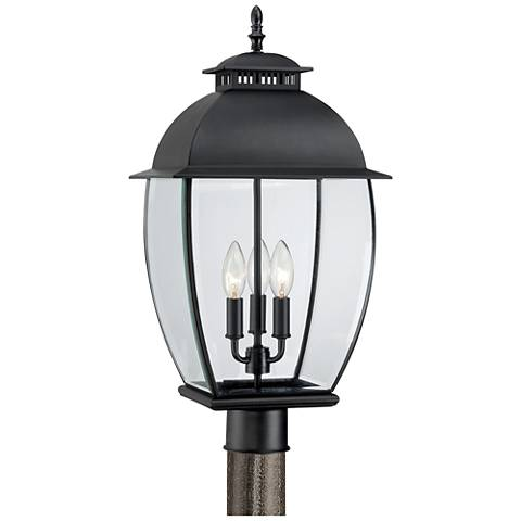 Everstone 21 3 4 Quot High White Outdoor Post Lantern 3d387