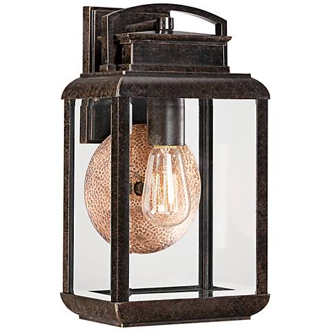 Quoizel Byron Imperial Bronze Medium Outdoor Wall Lantern