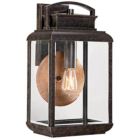 Quoizel Byron Imperial Bronze Large Outdoor Wall Lantern
