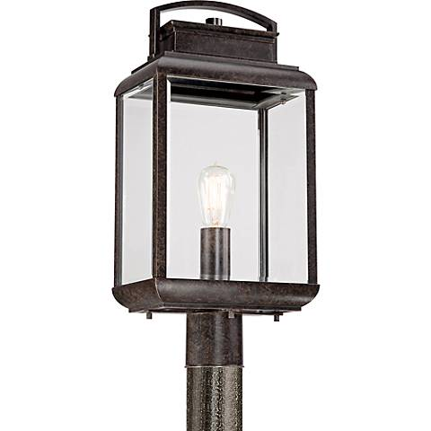 Quoizel Byron Imperial Bronze Large Outdoor Post Lantern