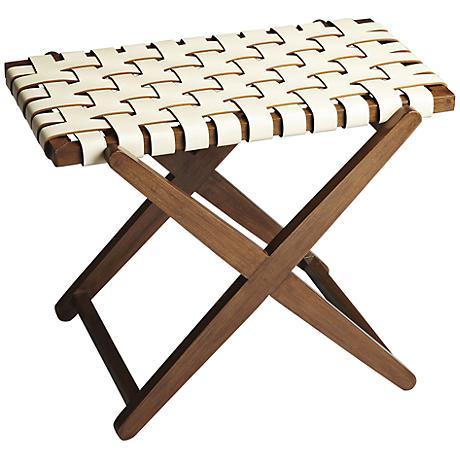 Modern Expressions Birch Wood Luggage Rack