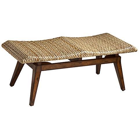 Designer's Edge Solid Wood Bench