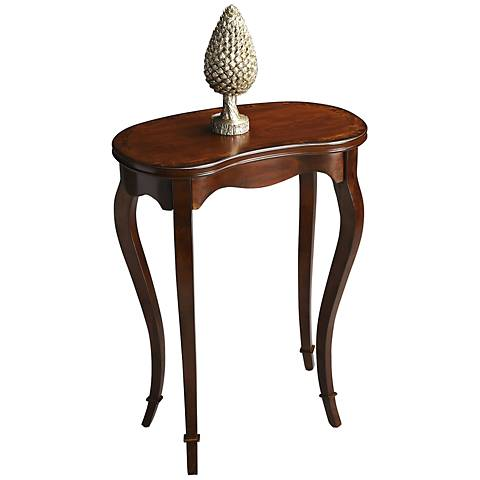 Masterpiece Kidney-Shape Accent Table