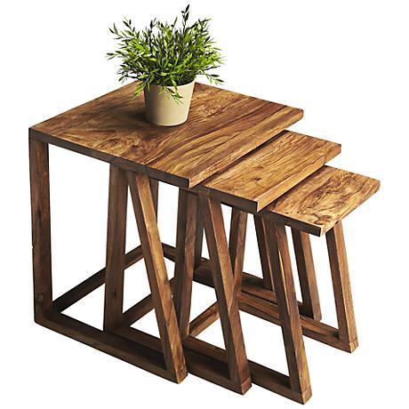 Butler Loft Sheesham Wood Nesting Tables