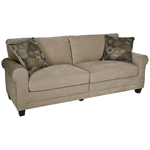"Serta Copenhagen 72"" Wide Vanity Fabric Sofa"