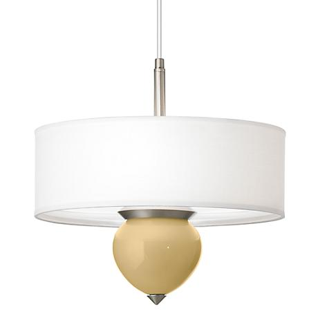 """Humble Gold Cleo 16"""" Wide Pendant Chandelier"""