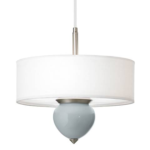 "Uncertain Gray Cleo 16"" Wide Pendant Chandelier"