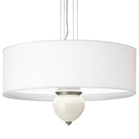 "West Highland White Cleo 24"" Wide Pendant Chandelier"