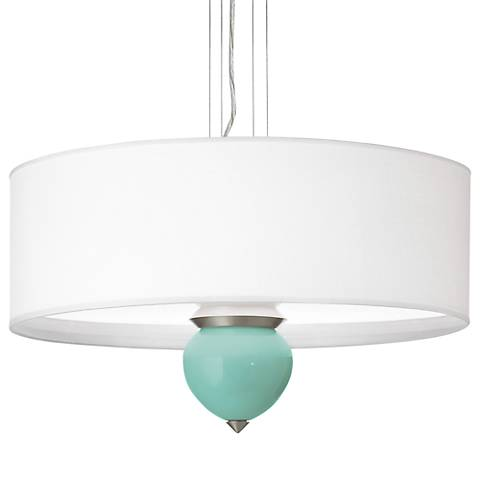 "Rapture Blue Cleo 24"" Wide Pendant Chandelier"