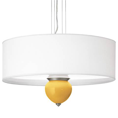 "Goldenrod Cleo 24"" Wide Pendant Chandelier"