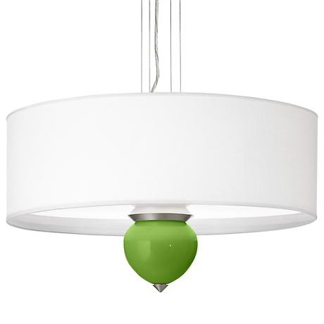 "Rosemary Green Cleo 24"" Wide Pendant Chandelier"