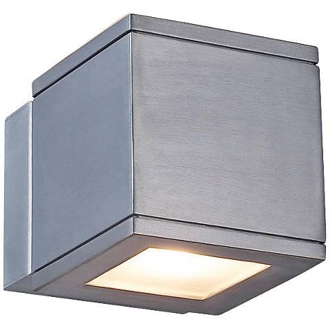 """WAC Rubix 5"""" High Brushed Aluminum LED Up - Downlight"""