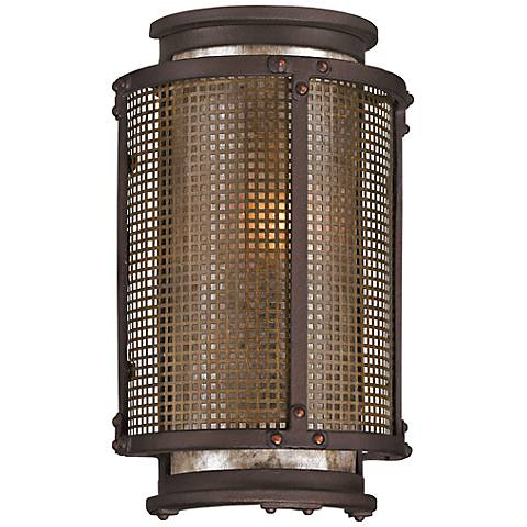 "Copper Mountain 10 1/2"" High Bronze Outdoor Wall Light"