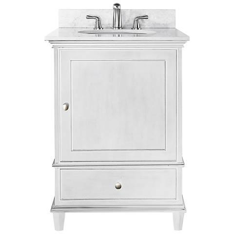 """Avanity Windsor 24"""" Wide White Sink Vanity"""