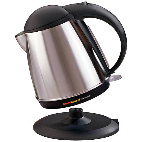 Cordless 1 3/4-Quart Stainless Steel Electric Kettle