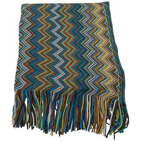Marrakesh Chevron Decorative Throw Blanket